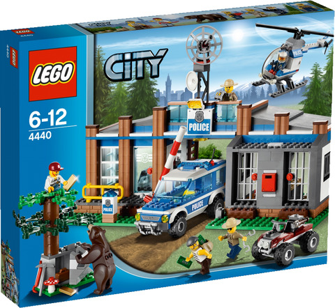 Lego City Forstpolizeirevier